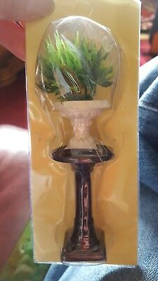 1:12rh scale dolls house plant on tall stand