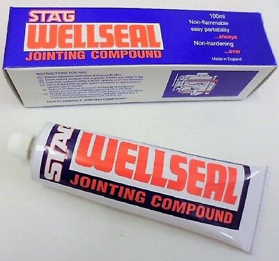 Head Gasket Compound Stag Wellseal Jointing Sealer Handy 100Ml Tube Adv