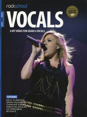 Rockschool Vocals Female Singers Grade 6 Music Book with Audio Access