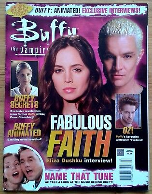 Buffy The Vampire Slayer Official Magazine Issue 63 August 2004 Eliza Dushku