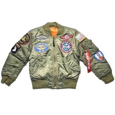 Alpha Industries MA1 Patch Kids Bomber