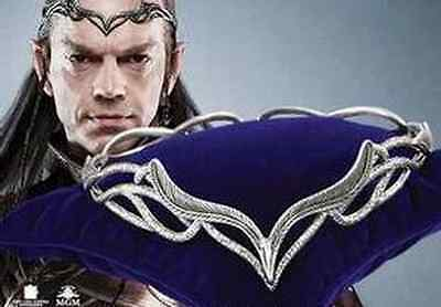 Lord of the Rings Hobbit Elrond's The Headdress of Elrond Hollow Vintage crown