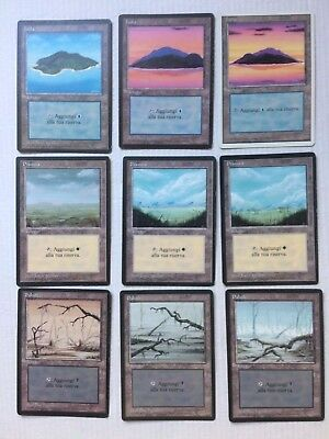 Magic The Gathering Terre Varie Anno 1994 - 18 carte