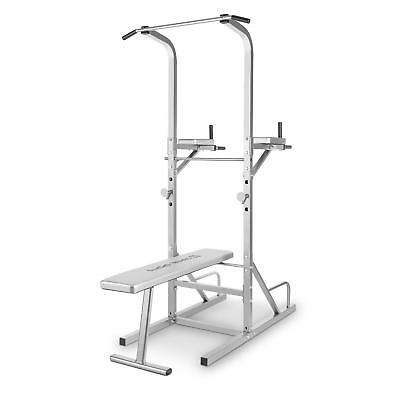 Capital Sports Spirits Multi Gym Home Bench Push Ups Dips Folding Space Save New
