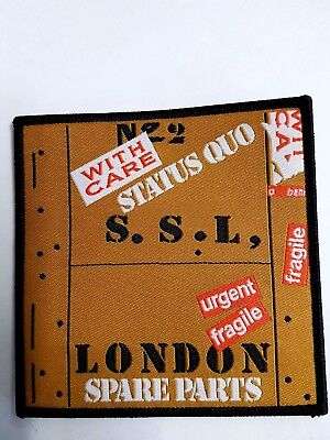 Status Quo Spare Parts Iron/Sew on Patch