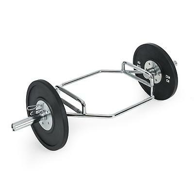 Weightlifting Trap Bar Bell Body Excercise Fitness Gym Home Fat Burn 300 G Max