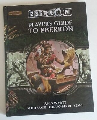 PLAYER'S GUIDE TO EBERRON Dungeons and Dragons D&D Wizards of Coast D20 HC