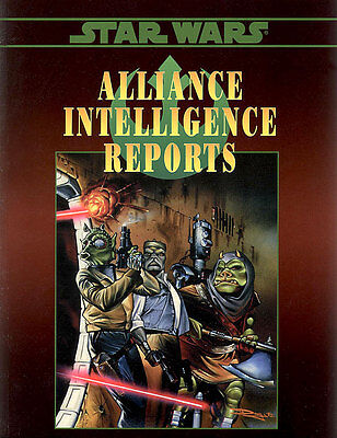 Star Wars RPG Alliance Intelligence Reports West End Games RolePlaying Game