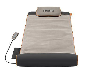 Homedics Stretch Massage Yoga Mat Foldaway Design 4 Built-In Treatment Programs