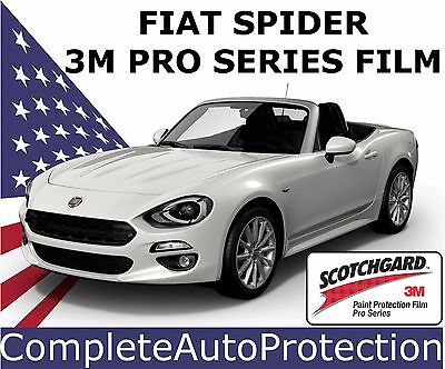Fiat 124 Spider Front Bumper Paint Protection Kit 3M Pro PPF Film Self Healing