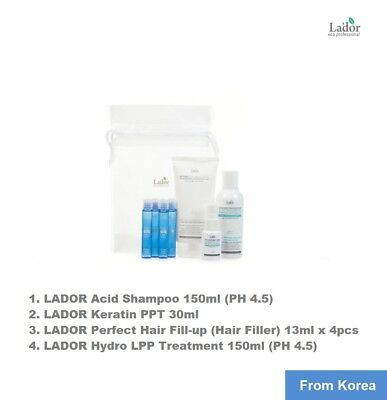 LADOR special home care kit- 4steps / Shampoo - PPT - Perfect hair fill-up - LPP