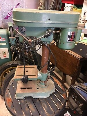 Small Bench Elec Pillar Drill/ 5 Speed Drill Press (marks Tey Essex)