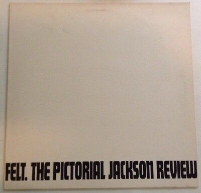 FELT  'The Pictorial Jackson Review' LP