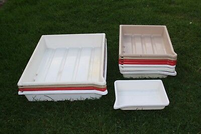14x Photography Developing Trays Patterson  12x16in / 10x9in (Job Lot)