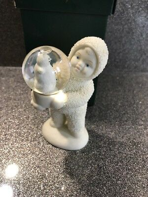 "DEPARTMENT 56 SNOWBABIES CHRISTMAS FIGURINE ""shake It Up Baby"""