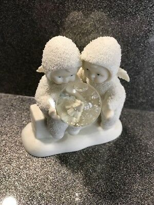 "DEPARTMENT 56 SNOWBABIES CHRISTMAS FIGURINE ""the Littlest Christmas Tree"""