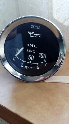 vintage car oil pressure gauge