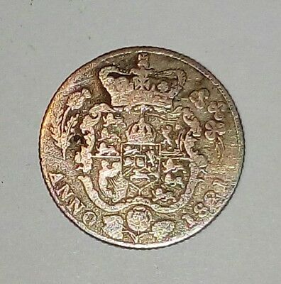 England King George lV 6 pence 1821 very rare hard to find coin