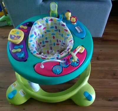 Mothercare Walk Around, baby walker with activity toys.