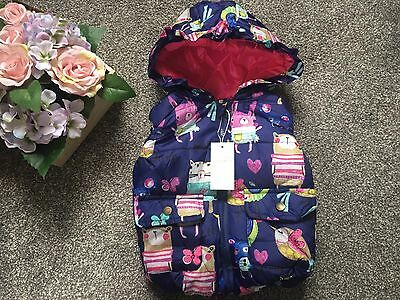 Baby Girls Gillette Age 18-24 Months Cat Mouse Design Next Day Postage New Coat