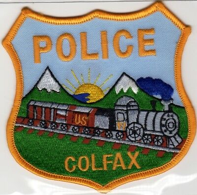 COLFAX POLICE patch - CALIFORNIA