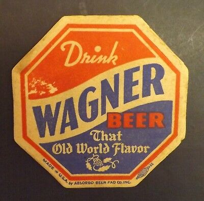 Vintage Wagner Beer Coaster - Illinois IL - No Reserve!