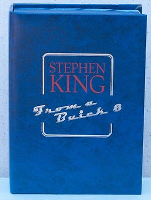 From a Buick 8 - traycase only book not included-Stephen King (Item US 662,663)