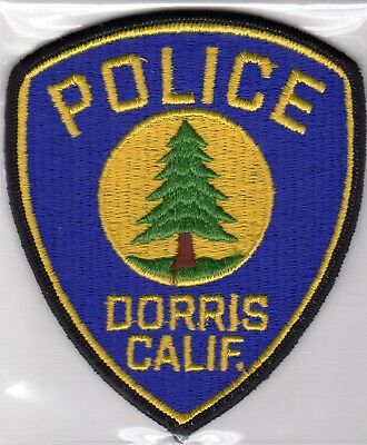 Vintage DORRIS POLICE patch - CALIFORNIA