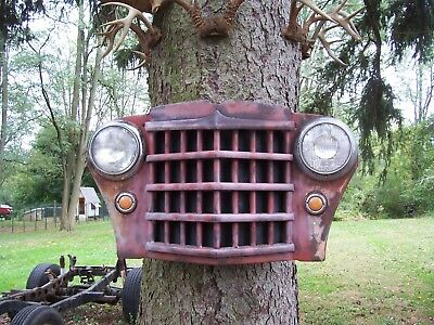 willys yard art grill soler powered