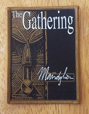 The Gathering Mandylion Brown woven patch aufnäher limited edition hard rock