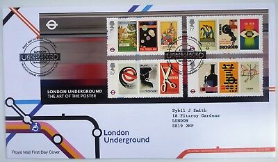 GB 2013 London Underground  FIRST DAY COVER  tallents house  MINT