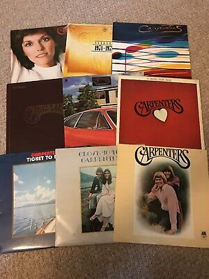 The Carpenters Vinyl Record Collection