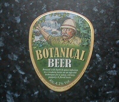 Banks's Botanical Beer Pump Clip Sign