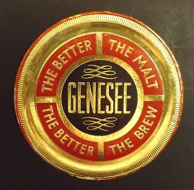 Vintage Genesee Beer Coaster - Rochester, NY - No Reserve!