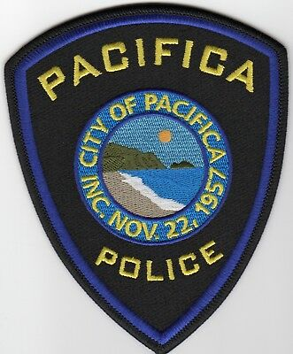 PACIFICA POLICE patches - CALIFORNIA