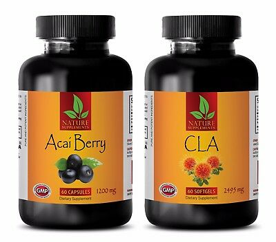Energy pills - CLA - ACAI BERRY COMBO - cla oil for Weight loss