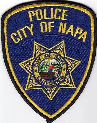 NAPA POLICE patch - CALIFORNIA