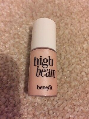 Benefit High Beam Complexion Enhancer Deluxe Sample 4ml Highlighter Free PP