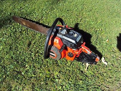 "Jonsered 70F Chainsaw 20"" Bar Runs Good"