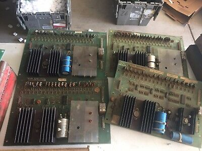 Lot of 4 Bally pinball -35 type solenoid driver boards