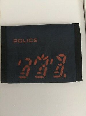 The Police Vintage Wallet Ghost In The Machine 1981 Promo Tour Memorabilia Live