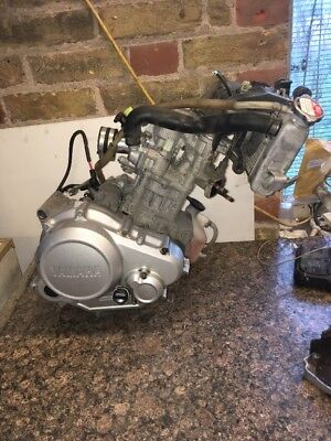 Yamaha Yzf R 125 2014 Engine FITS ALL YEARS 4000 MILES FITS 2008 TO 2017