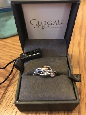 Clogau 9ct Gold  Tree Of Life Ring Size L