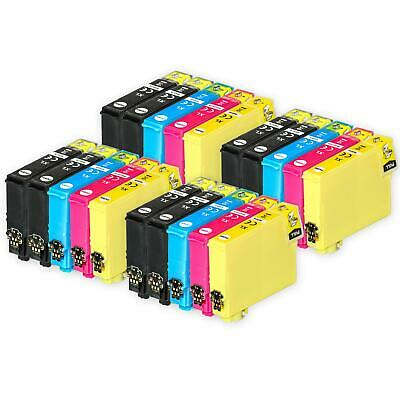 20 Ink Cartridges (Set+Bk) for Epson Stylus SX130, SX420W, SX430W, SX440W