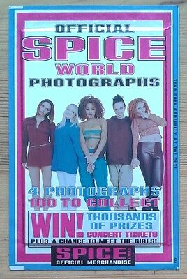 Spice Girls Official Spiceworld Photographs sealed packet