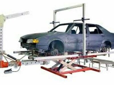 Autorobot chassis aligner and measuring system