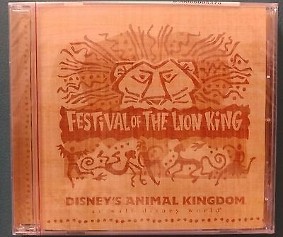 NEW Sealed Disney Festival of the Lion King Music CD Soundtrack