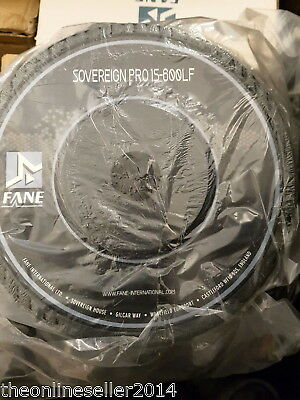 "Fane Sovereign Pro 15-600LF 15"" Driver Speaker 600W"