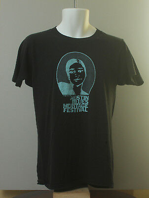 82 Austin Heritage Festival Shirt Stevie Ray Vaughan Double Trouble EarlyConcert