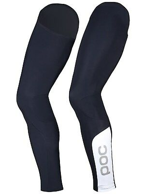 POC Navy Black-Hydrogen White  2017 AVIP Leg Warmers - Pair